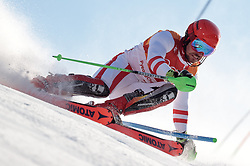 13.02.2018, Jeongseon Alpine Centre, Pyeongchang, KOR, PyeongChang 2018, Ski Alpin, Herren, Kombination, im Bild Marcel Hirscher (AUT, 1. Platz) // gold medalist and Olympic champion Marcel Hirscher of Austria during the Mens Ski Men's Alpine Combined of the Pyeongchang 2018 Winter Olympic Games at the Jeongseon Alpine Centre in Pyeongchang, South Korea on 2018/02/13. EXPA Pictures © 2018, PhotoCredit: EXPA/ Johann Groder