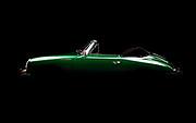 Image of an Irish Green 1962 Porsche 356 Carrera 2 Cabriolet in Washington, Pacific Northwest by Randy Wells