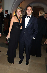 HUGH & BEATRICE WARRENDER at a dinner attended by the Conservative leader Michael Howard and David Davis and David Cameron held at the Banqueting Hall, Whitehall, London on 29th November 2005.<br /><br />NON EXCLUSIVE - WORLD RIGHTS