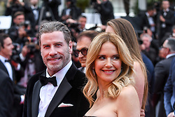 File photo - Kelly Preston and John Travolta arrive for the screening of Solo: A Star Wars Story during the 71st Cannes Film Festival at Palais des Festivals, in Cannes, France, on May 15, 2018. Kelly Preston, the actress married to John Travolta, has died after a private battle with breast cancer, aged 57. The actress had been battling against breast cancer for two years, with a family representative confirming news of her passing to People today. Photo by Ammar Abd Rabbo/ABACAPRESS.COM