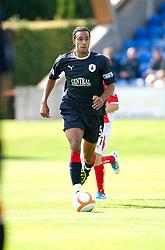 Falkirk's Rhys Bennett..Brechin City 1 v 2 Falkirk, The Ramsden Cup..©Pic : Michael Schofield.