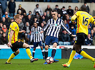 Shaun Williams of Millwall during the FA Cup match at The Den, London<br /> Picture by Liam McAvoy/Focus Images Ltd 07413 543156<br /> 29/01/2017
