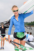 Poznan,  POLAND,  Saturday, 18/06/2016, IRL LW2X.  Bow Claire LAMBE. FISA World Cup III, Malta Lake.  FISA World Cup III, Malta Lake.[Mandatory Credit; Peter SPURRIER/Intersport-images]