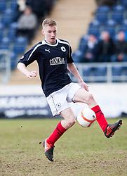 Falkirk's Liam Dick..Falkirk 4 v 0 Cowdenbeath, 6/4/2013..©Michael Schofield..