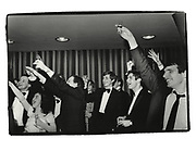 Toasts to Margaret Thatcher and Ronald Reagan. Monday club, Worcester college. Oxford. 1980