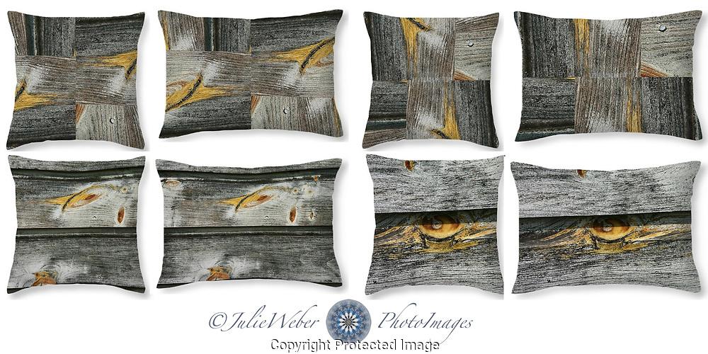 Wood Knots - Shop here: https://2-julie-weber.pixels.com/shop/throw+pillows/wood+knots