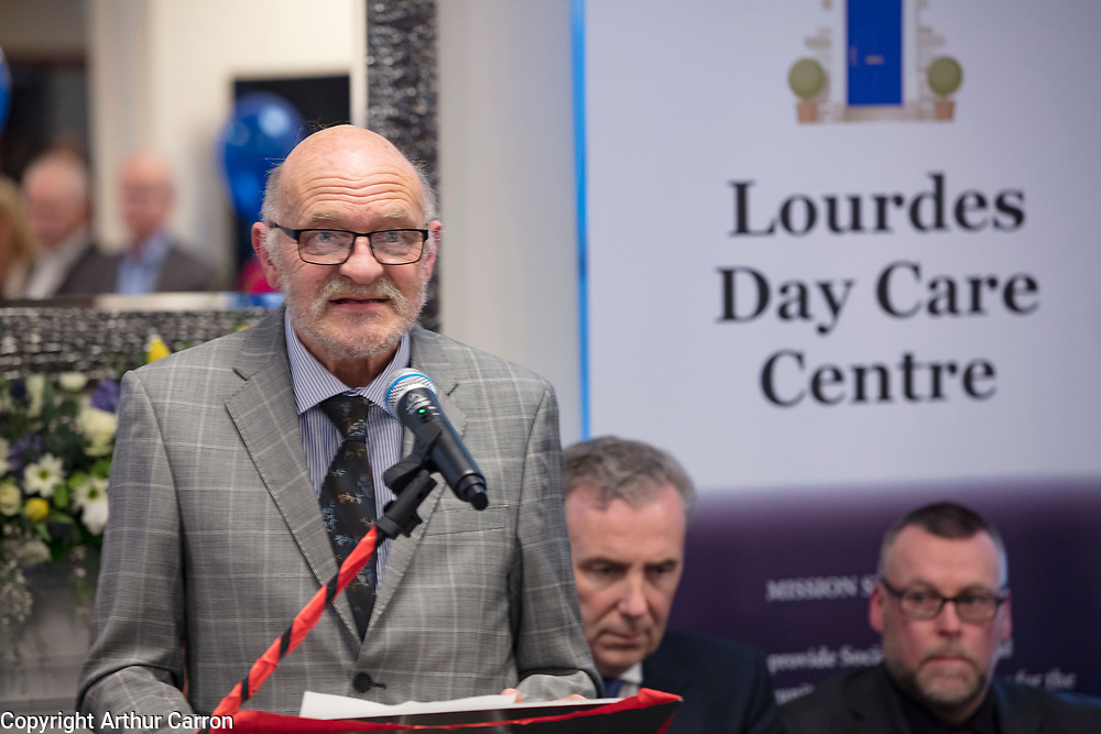 NO FEE PICTURES<br /> 8/3/19 The opening the refurbished Lourdes Day Care Centre on Dublin Sean McDermot street. Picture:Arthur Carron