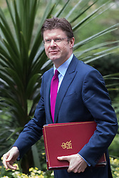 Downing Street, London, May 10th 2016. Communities Secretary Greg Clark arrives at the weekly cabinet meeting in Downing Street.
