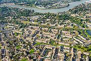 Nederland, Zuid-Holland, Krimpen aan den IJssel, 28-09-2014; nieuwbouwwijk Boveneind met zicht op de Hollandsche IJssel.<br /> New housing estates and river Hollandse IJssel.<br /> luchtfoto (toeslag op standard tarieven);<br /> aerial photo (additional fee required);<br /> copyright foto/photo Siebe Swart