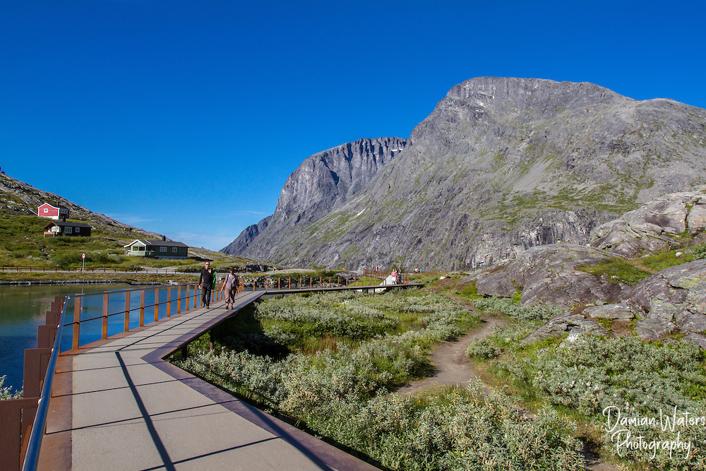 Trollstigen visitor path, Norway - August