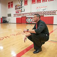 Head Coach for Grants High School varsity boys basketball team in Grants Friday.