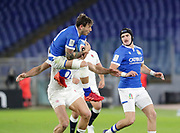 Matteo Minozzi (Italy) during the Guinness Six Nations 2020, rugby union match between Italy and England on October 31, 2020 at the Stadio Olimpico in Rome, Italy - Photo Luigi Mariani / LM / ProSportsImages / DPPI