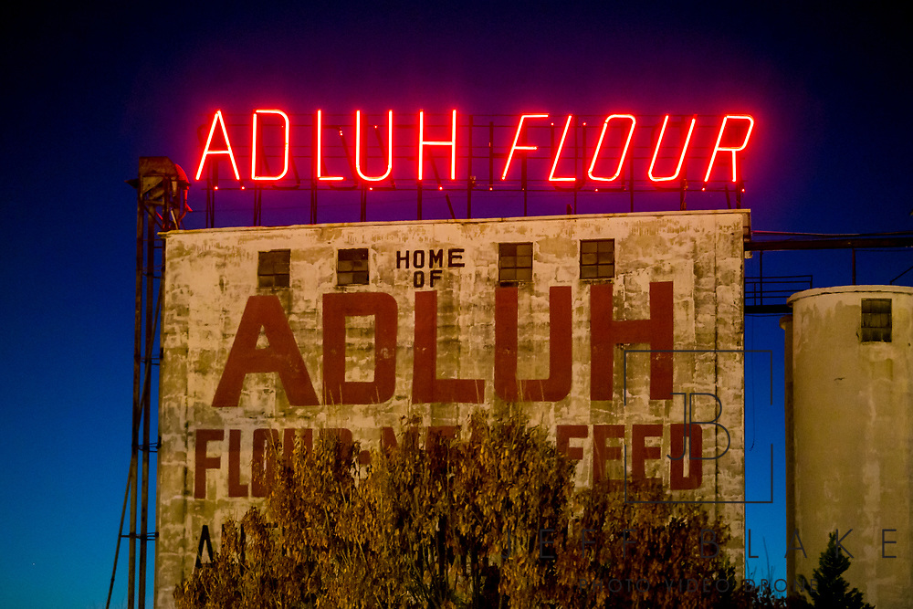 Adluh Flour in Columbia, SC, by photographer Jeff Blake, www.JeffBlakePhoto.com