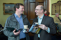 free pic no repro fee     GMC20012017 <br /> Darragh Burke and Donal Cronin from  MBA Trust  Pictured at the Port of Cork, for the launch of Meitheal Mara's ambitious plans for the realisation  of an integrated maritime hub for Cork City. www.meithealmara.ie<br /> Images By Gerard McCarthy 087 8537228 <br /> For more info contact  Joya Kuin  0857770969  joyakuin@gmail.com