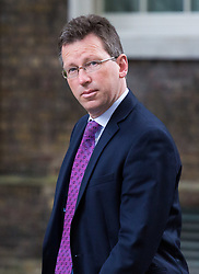 London, September 5th 2017. Attorney General Jeremy Wright attends the first UK cabinet meeting at Downing Street after the summer recess. ©Paul Davey