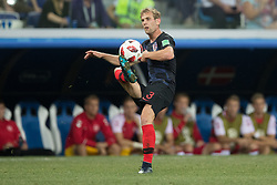 July 1, 2018 - Nizhny Novgorod, Russia - Ivan Strinic of Croatia during the 2018 FIFA World Cup Russia Round of 16 match between Croatia and Denmark at Nizhny Novgorod Stadium on July 1, 2018 in Nizhny Novgorod, Russia. (Credit Image: © Foto Olimpik/NurPhoto via ZUMA Press)