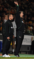 Photo: Ashley Pickering/Sportsbeat Images.<br /> Norwich City v Coventry City. Coca Cola Championship. 24/11/2007.<br /> Norwich manager Glenn Roeder (R)
