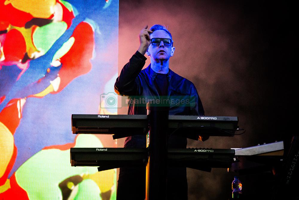 July 2, 2018 - Barolo, Cuneo, Italy - British band Depeche Mode performs on Collisioni in Barolo. (Credit Image: © Corrado Iorfida/Pacific Press via ZUMA Wire)