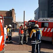 Gas lekkage bij BNI Huizen