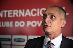 Marcelo de Medeiros assume como diretor de futebol, em cerimônia que Dunga assumiu como novo técnico do clube. FOTO: Jefferson Bernardes/Preview.com