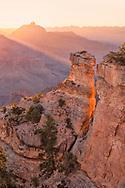 South Rim, sunrise, Yaki Point, Grand Canyon National Park, Arizona,