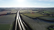 Aerial Photos of Dunleer Co Louth, 9-1-21 M1 Looking North from Junction 12