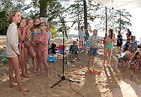Gilford Parks and Recreation Summer Kick Off Party at Gilford Beach June 29, 2011.