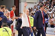 DESCRIZIONE : Campionato 2014/15 Serie A Beko Dinamo Banco di Sardegna Sassari - Grissin Bon Reggio Emilia Finale Playoff Gara3<br /> GIOCATORE : Massimiliano Menetti<br /> CATEGORIA : Allenatore Coach Ritratto Delusione Postgame<br /> SQUADRA : Grissin Bon Reggio Emilia<br /> EVENTO : LegaBasket Serie A Beko 2014/2015<br /> GARA : Dinamo Banco di Sardegna Sassari - Grissin Bon Reggio Emilia Finale Playoff Gara3<br /> DATA : 18/06/2015<br /> SPORT : Pallacanestro <br /> AUTORE : Agenzia Ciamillo-Castoria/C.Atzori