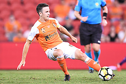 January 18, 2018 - Brisbane, QUEENSLAND, AUSTRALIA - Matt McKay of the Roar (#17) in action during the round seventeen Hyundai A-League match between the Brisbane Roar and the Perth Glory at Suncorp Stadium on January 18, 2018 in Brisbane, Australia. (Credit Image: © Albert Perez via ZUMA Wire)