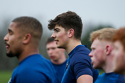 Chay Mullins of Bristol Bears in action during a training session - Rogan/JMP - 04/03/2021 - RUGBY UNION - Bristol Bears High Performance Centre - Bristol, England.
