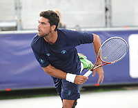 Brodies Champions of Tennis.<br /> Mark Phillipoussis takes on Greg Rusedski in the first match of the tournament.<br /> Pic shows: Mark Phillipoussis in action.