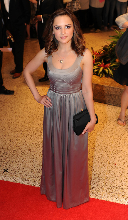 Rachel Leigh Cook arrives for the White House Correspondents Dinner in Washington, DC