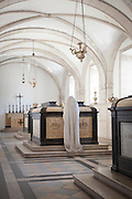 The pantheon for the kings of the House of Braganza at the Monastery of Sao Vicente de Fora, Lisbon, Portugal