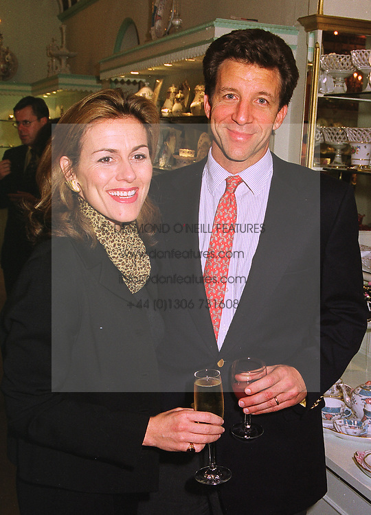 MR & MRS STEVE WYATT he was a friend of Sarah, Duchess of York, at a party in London on 13th October 1998.MKT 25