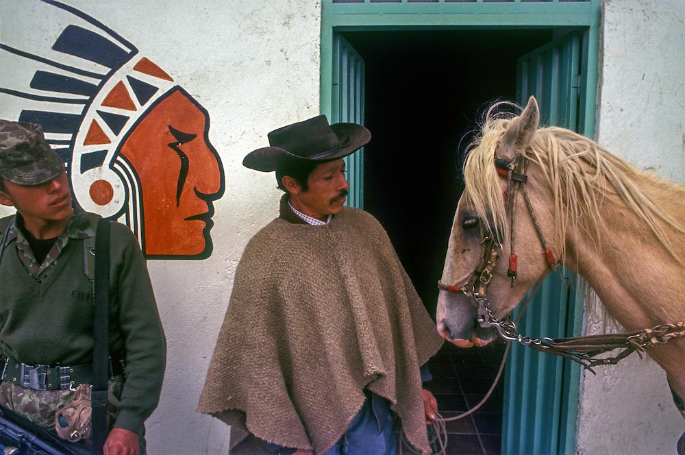 Cowboys and Indians, Roadside cafe, Santander