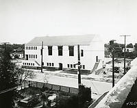 1924 The first Hollywood YMCA, just after construction was completed. Located on Selma Ave., just west of Hudson Ave. (now Schrader Blvd.)