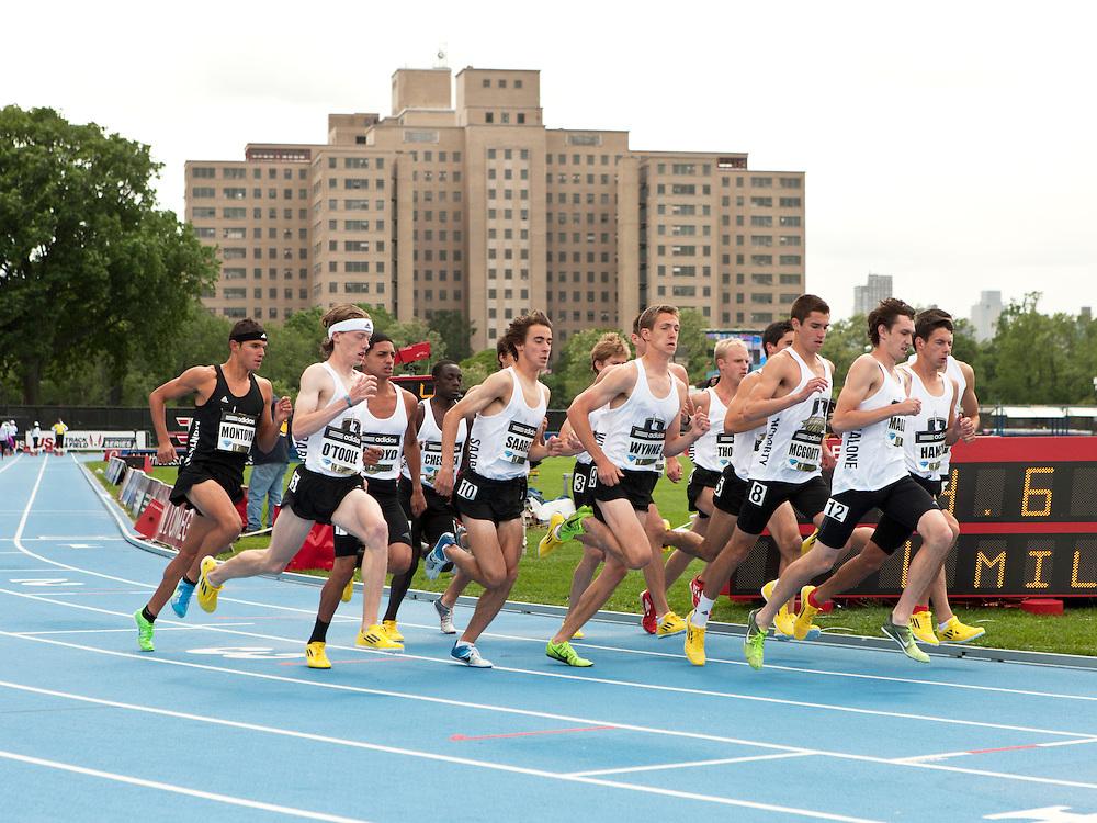 adidas Grand Prix track & field: high school boys Dream Mile