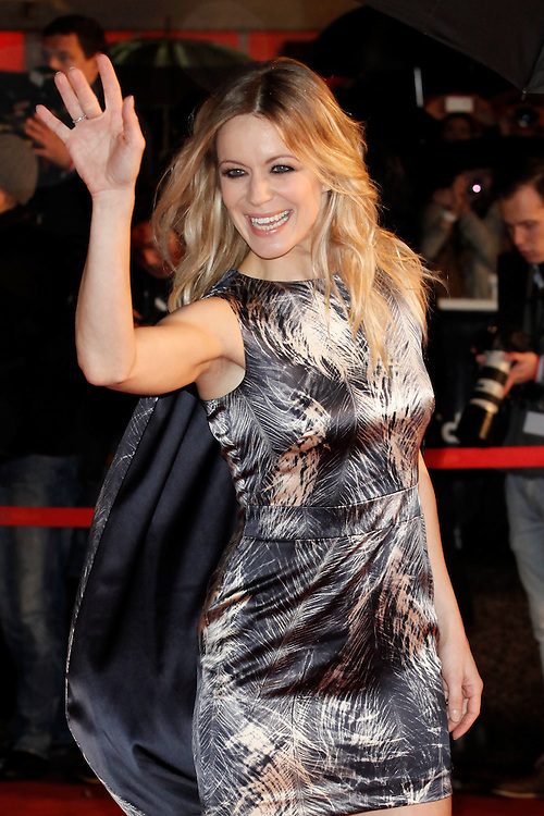 Veronic Dicaire poses as she arrives at NRJ Music Awards 2012 at Palais des Festivals on January 28, 2012 in Cannes.Véronic Dicaire  arrive aux NRJ Music awards 2012  au Palais des Festivals le Janvier 28 2012 à Cannes.