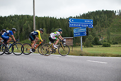 Grace Brown (AUS) of Team Australia leads the break in the long loop of the Crescent Vargarda - a 152 km road race, starting and finishing in Vargarda on August 13, 2017, in Vastra Gotaland, Sweden. (Photo by Balint Hamvas/Velofocus.com)