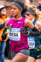 NYC Marathon, Buzunesh Deba, a Bronx resident from Ethiopia, wanted badly to win after placing second last two years, and she pushed the pace in the first half often finding herself in the lead