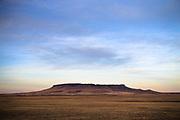 Square Butte near Cascade, Montana.