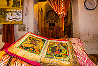 1000 year old holy book, Old Church of St. Mary Zion, Axum (Aksum), Ethiopia.