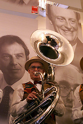 Labour Party's 100th birthday at the Old Vic theatre, London ..The jazz rambblers play at the reception, February 27, 2000. Photo by Andrew Parsons / i-images..
