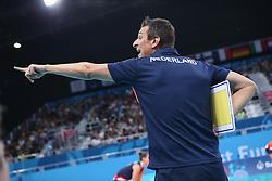 20150619 AZE: 1ste European Games Baku Servie - Nederland, Bakoe<br /> Nederland verslaat Servie met 3-2 /Coach Giovanni Guidetti