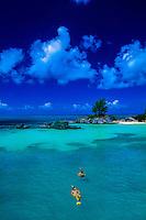 Snorkeling, west side of Bermuda