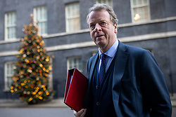 © Licensed to London News Pictures. 01/12/2020. London, UK. Secretary of State for Scotland Alister Jack on Downing Street for the cabinet meeting. MPs will later vote on a new set of tiered restrictions to replace the national lockdown after 2 December. Photo credit: Rob Pinney/LNP