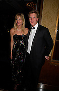 Lucy Sangster and Ben Sangster, The 2004 Cartier Racing awards, Four Seasons Hotel. London. 17 November 2004. ONE TIME USE ONLY - DO NOT ARCHIVE  © Copyright Photograph by Dafydd Jones 66 Stockwell Park Rd. London SW9 0DA Tel 020 7733 0108 www.dafjones.com
