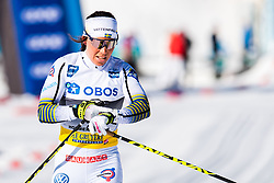 March 10, 2019 - Oslo, NORWAY - 190310 Charlotte Kalla of Sweden looks dejected after the women's 30 km classic technique mass start during the FIS World Cup on March 10, 2019 in Oslo..Photo: Jon Olav Nesvold / BILDBYRÃ…N / kod JE / 160424 (Credit Image: © Jon Olav Nesvold/Bildbyran via ZUMA Press)