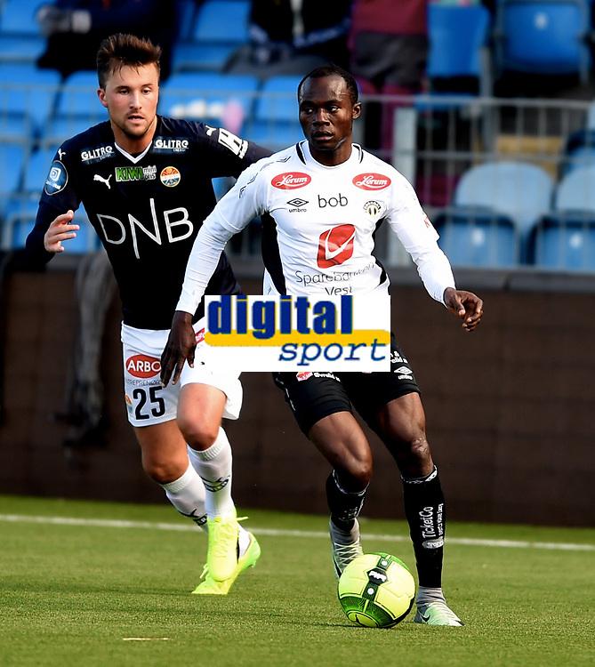 Fotball , 18. mars 2017 ,  Privatkamp , Strømsgodset - Sogndal 5-0<br /> <br /> Gilbert Koomson , Sogndal