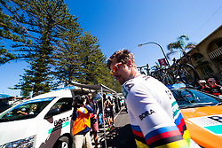 January 18, 2018 - Glenelg, South Australia, Australia - Peter Sagan at the start of Stage 3, Glenelg to Victor Harbor, of the Tour Down Under, Australia on the 18 of January 2018  (Credit Image: © Gary Francis via ZUMA Wire)